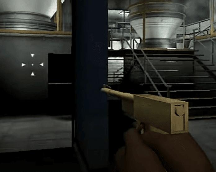 Cool weapon 4: The Golden Gun – GoldenEye 007