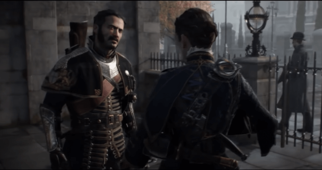 The Order: 1886 great graphics ps4 game