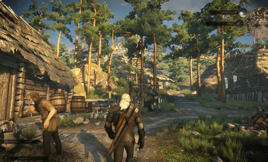 The Witcher 3 a game like skyrim