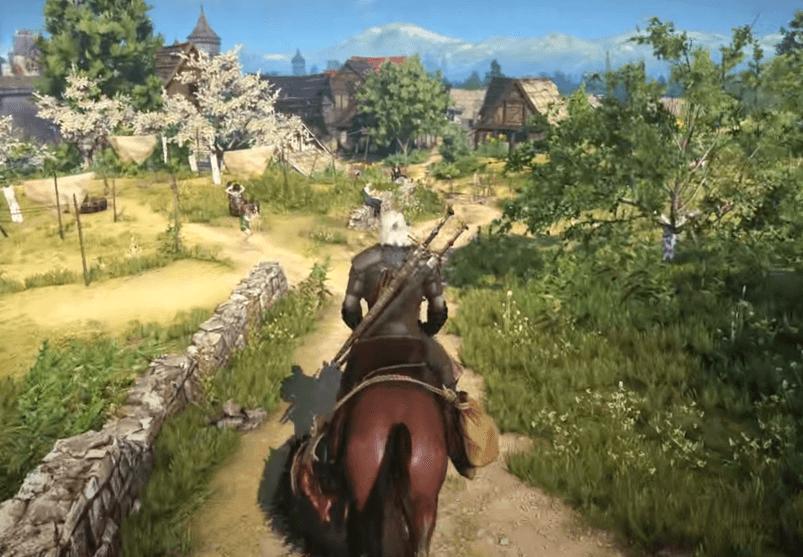 The Witcher 3: Wild Hunt gameplay