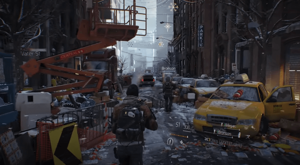 Tom Clancy's The Division one of the best action shooting games for PS4