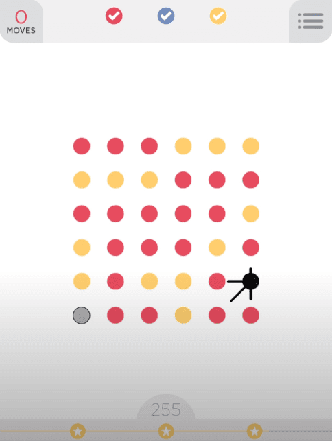 Two Dots similar game like candy crush