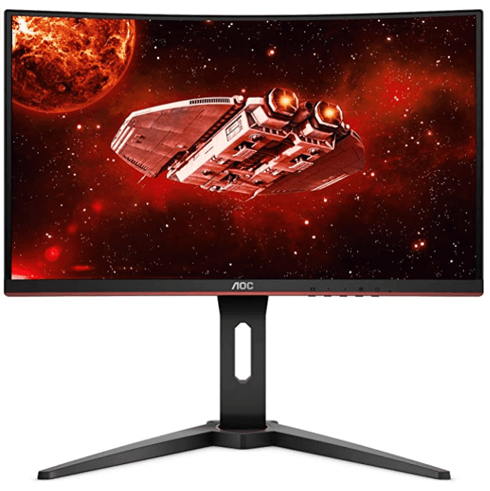 "AOC CQ27G1 27"" Curved Frameless Gaming Monitor 1440"