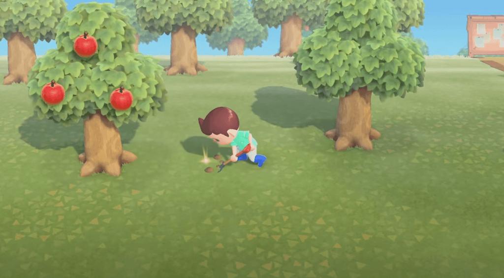Animal Crossing: New Horizons gameplay