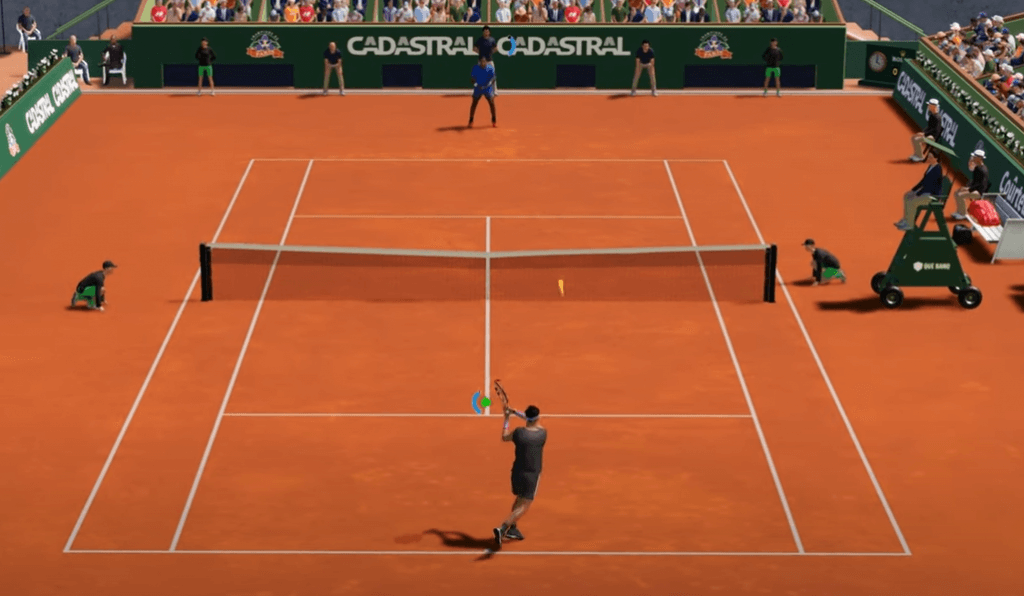 AO Tennis 2 is one of the best tennis games for PS4