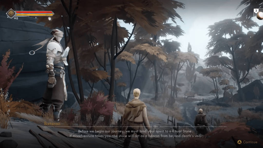 Ashen gameplay - a game like Dark Souls