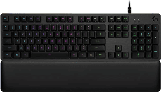 Logitech G513 RGB Backlit Mechanical Gaming Keyboard with Romer-G Tactile Keyswitches