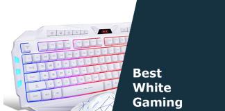 best white gaming keyboards