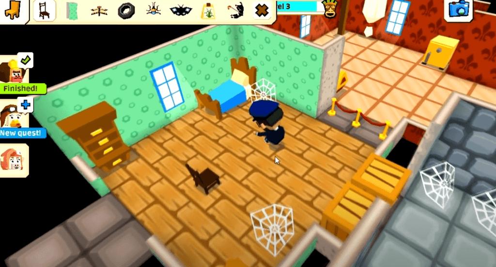 Castaway Paradise gameplay