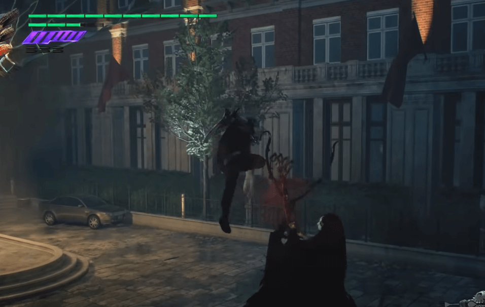 Devil May Cry 5 gameplay - a great hack and slash game