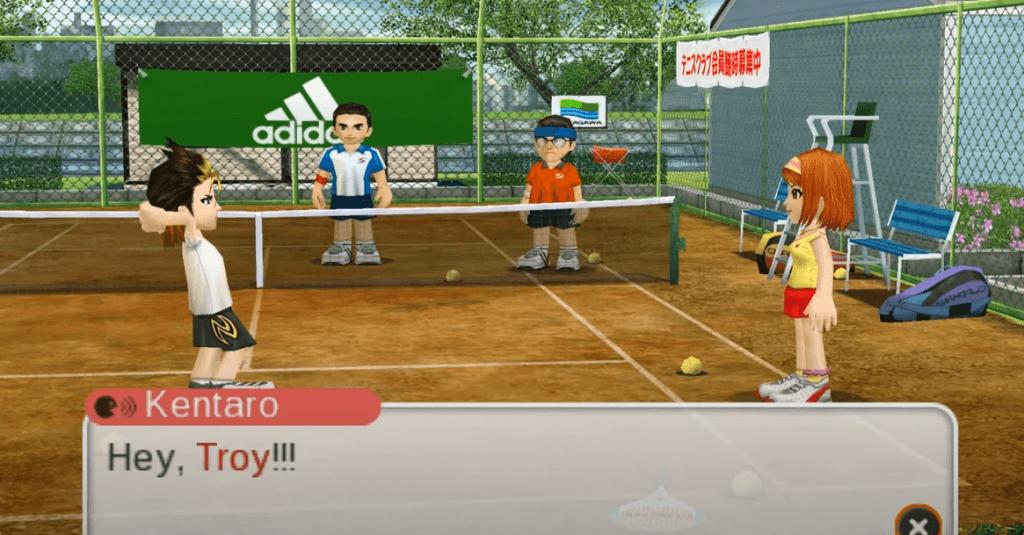 Everybody's Tennis gameplay