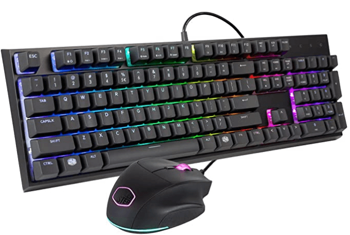 Cooler Master MasterSet MS120 Gaming Keyboard & Mouse Combo