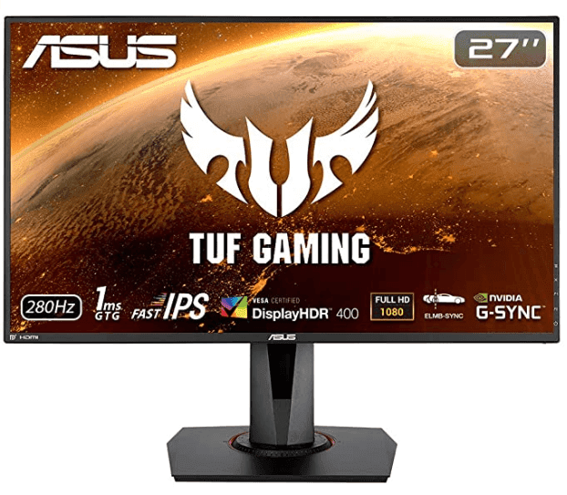 """The best 1080p gaming monitor of 2020: ASUS TUF Gaming VG279QM 27"""" HDR Monitor"""