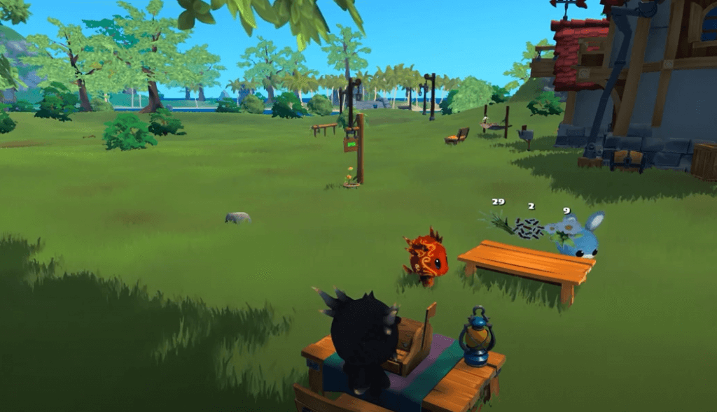 Garden Paws gameplay is super cute as a similar game to Animal Crossing.