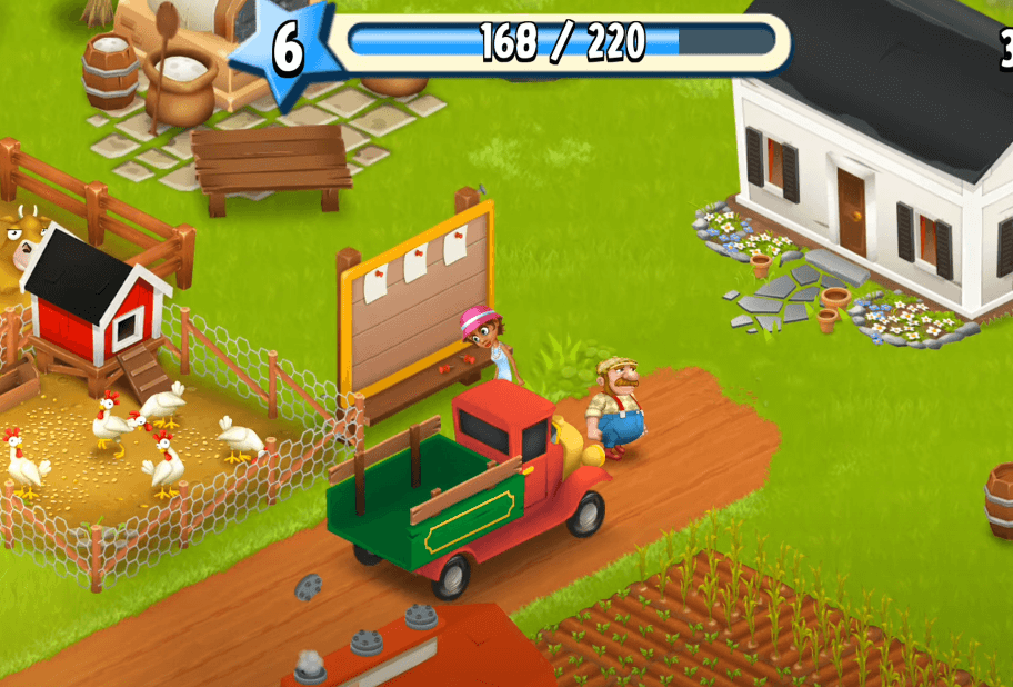 Hay Day - a mobile game for Stardew Valley fans