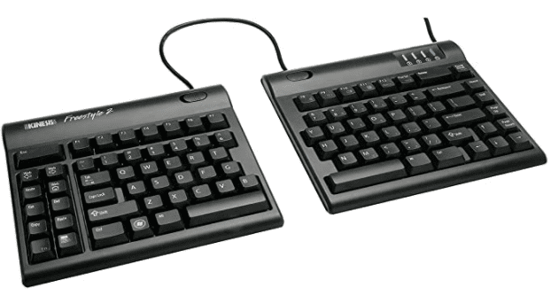 A superbly thin take on the split construction: Kinesis Freestyle2 Ergonomic Keyboard