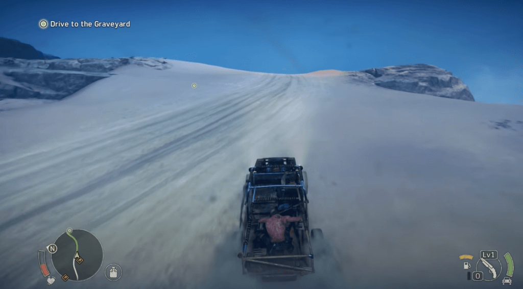 Mad Max gameplay features an amazing landscape