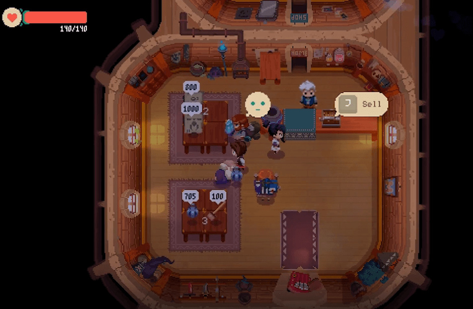 Moonlighter is another game like Stardew Valley
