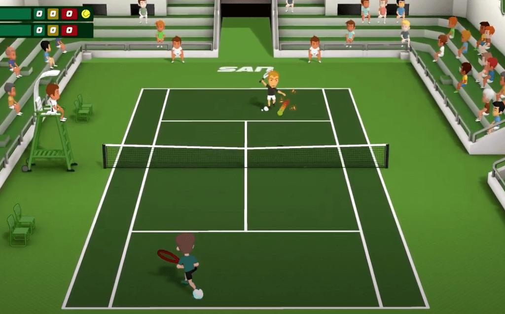 Super Tennis Blast is an amazing tennis game