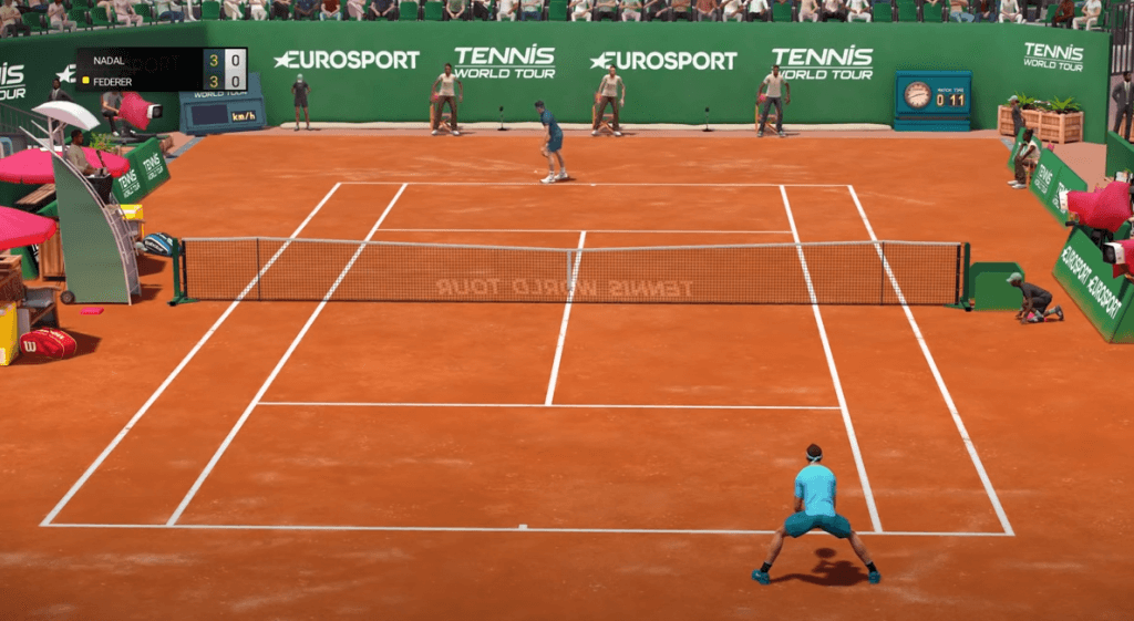 Tennis World Tour gameplay