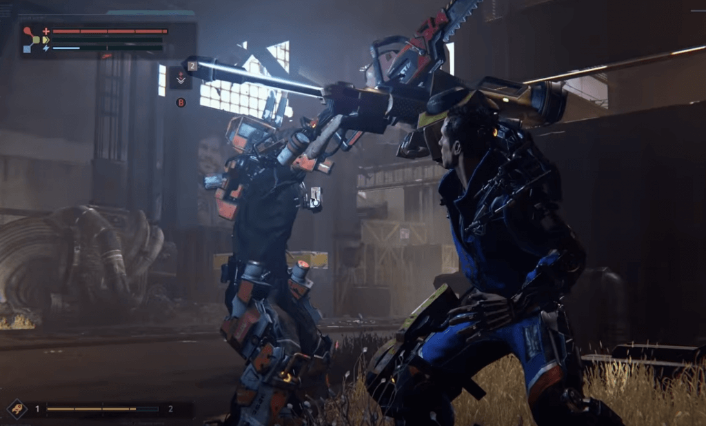 The Surge gameplay