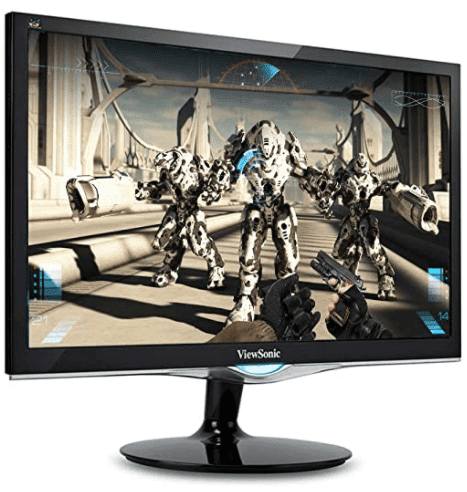 The precious combination of functionality and a sleek look: ViewSonic VX2252MH 22 Inch 2ms 75Hz 1080p Gaming Monitor