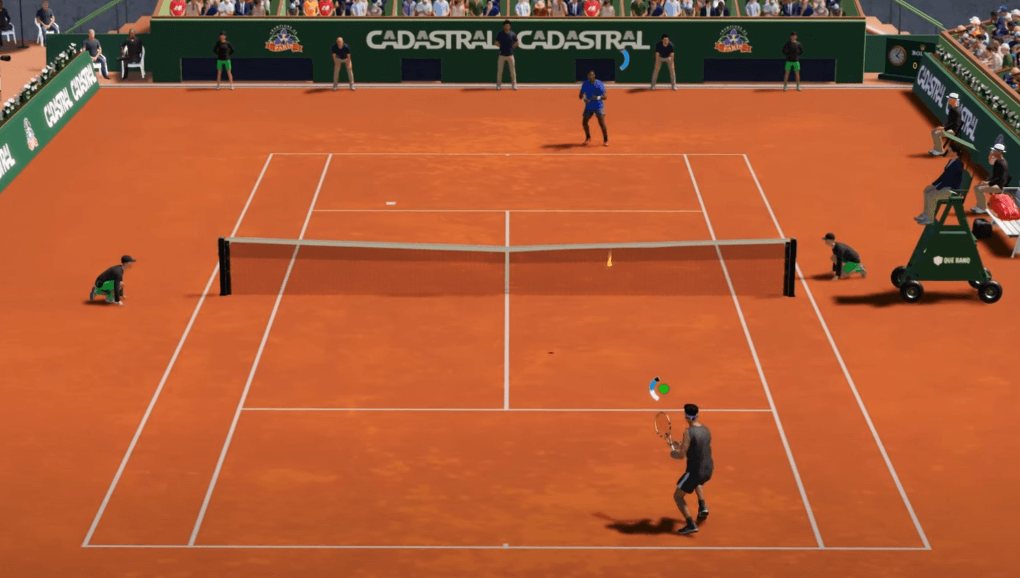 AO Tennis 2 gameplay has realistic and amazing graphics