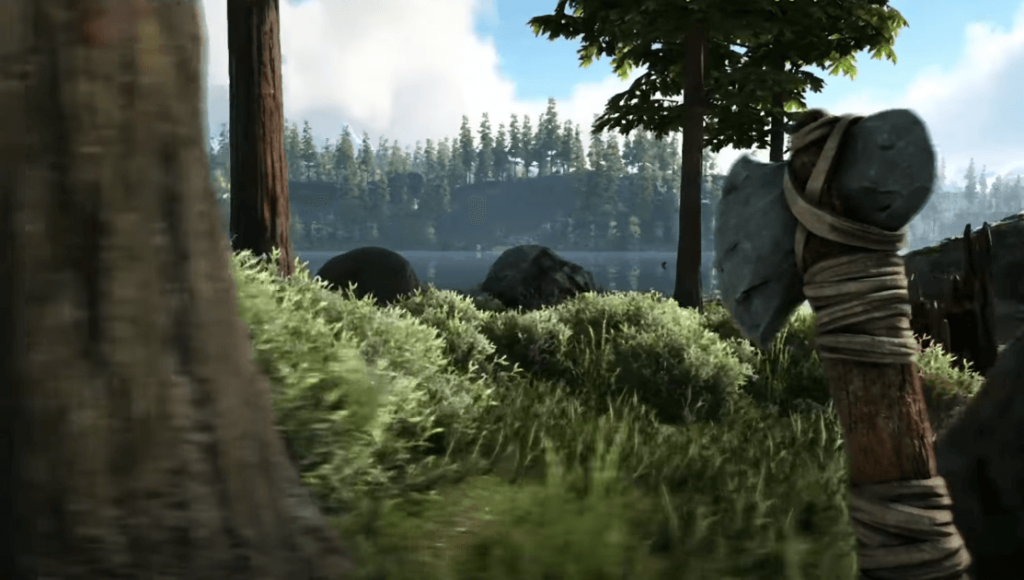 Ark: Survival Evolved is a game like The Forest