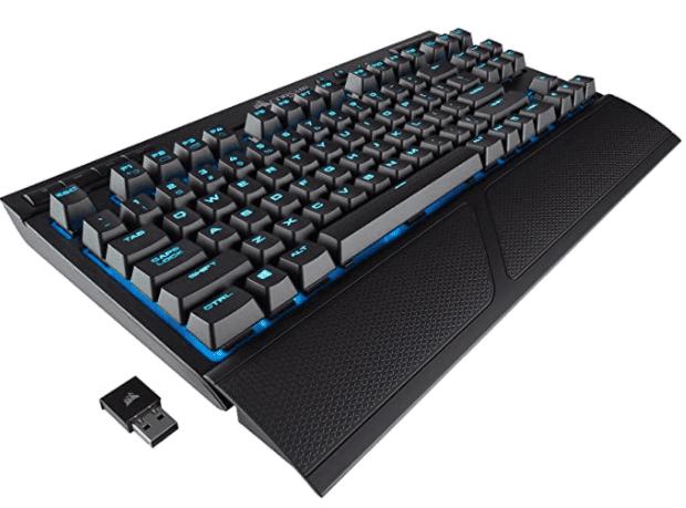 The best wireless gaming keyboard: Corsair K63 Wireless Mechanical Gaming Keyboard