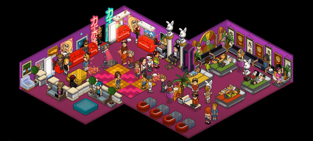 Habbo gameplay