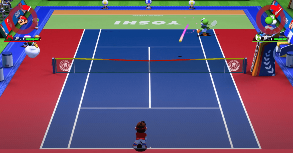 Mario Tennis Aces - one of the best tennis games only for Nintendo Switch gamers