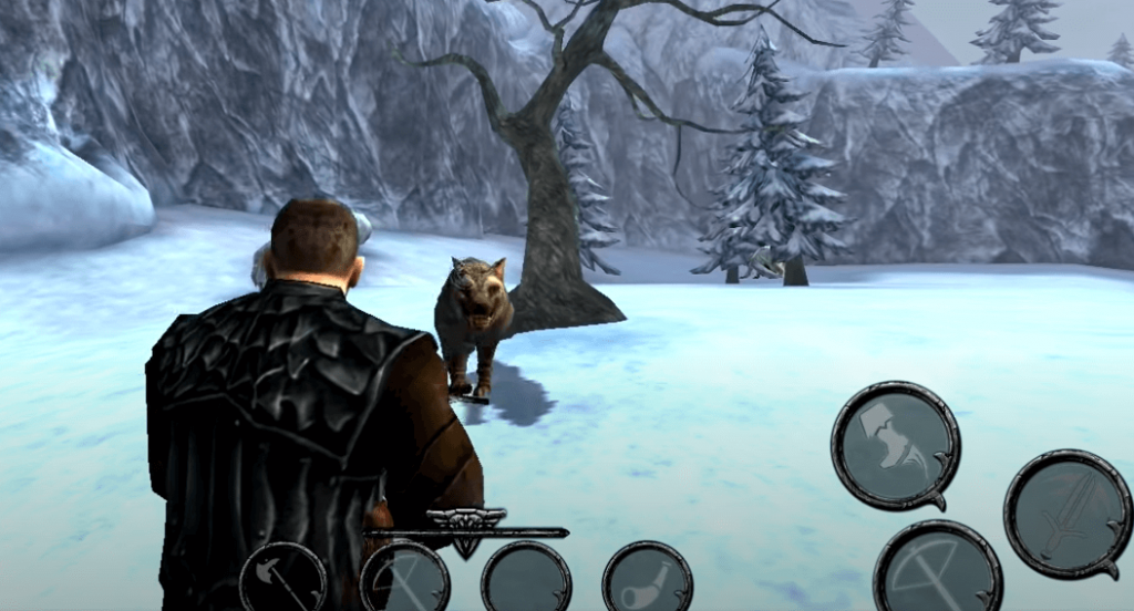 Ravensword: Shadowlands gameplay