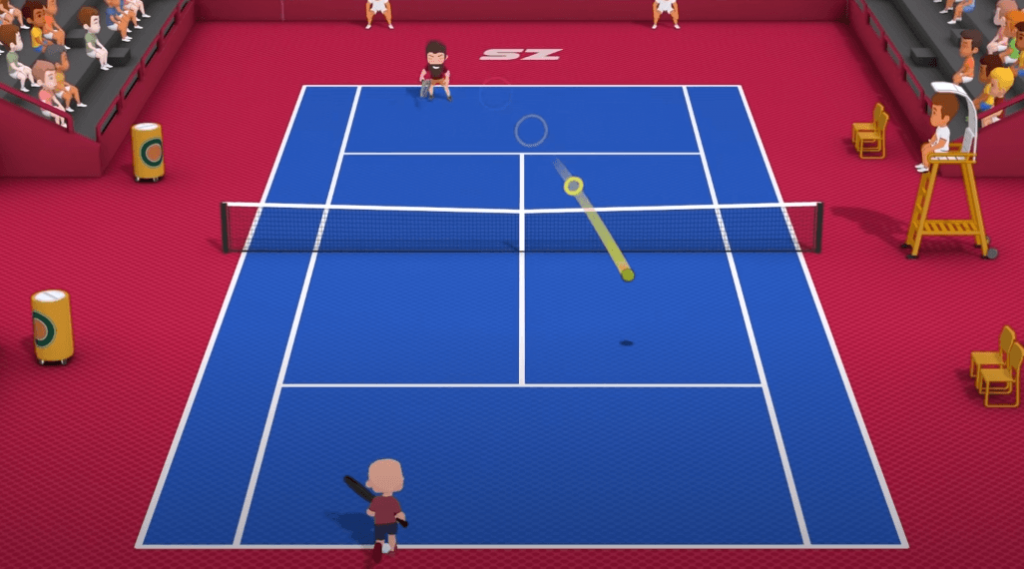 Super Tennis Blast is a great recommendation for tennis fans with Nintendo Switch
