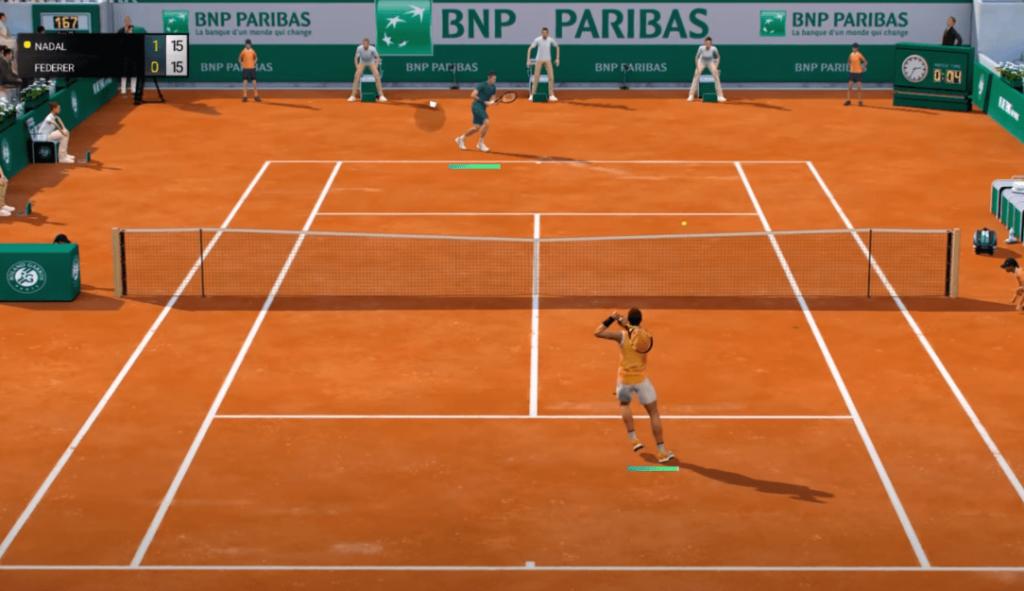 Tennis World Tour Roland-Garros Edition - best tennis games on Nintendo Switch