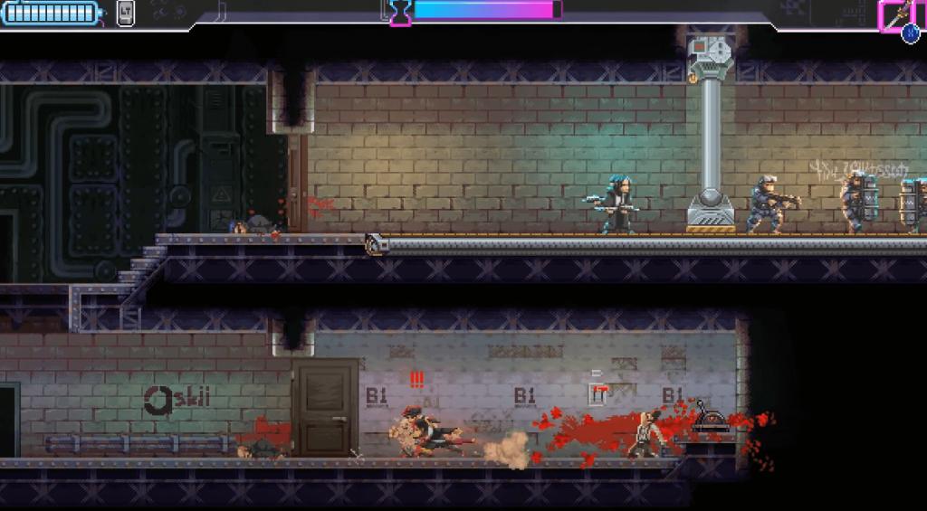 Game like Hollow Knight: Katana Zero gameplay
