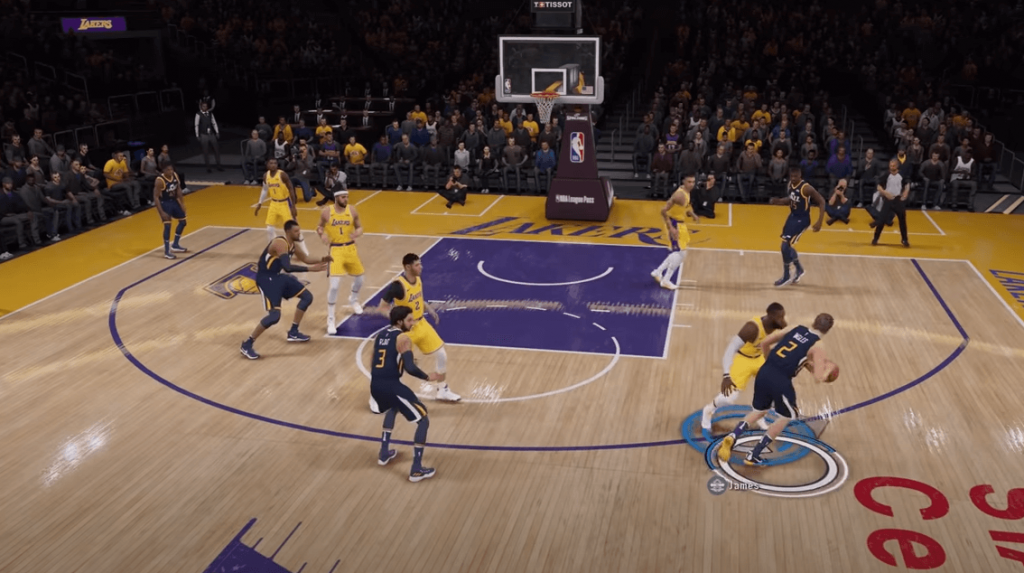NBA Live 19 realistic gameplay will satisfy any basketball fans
