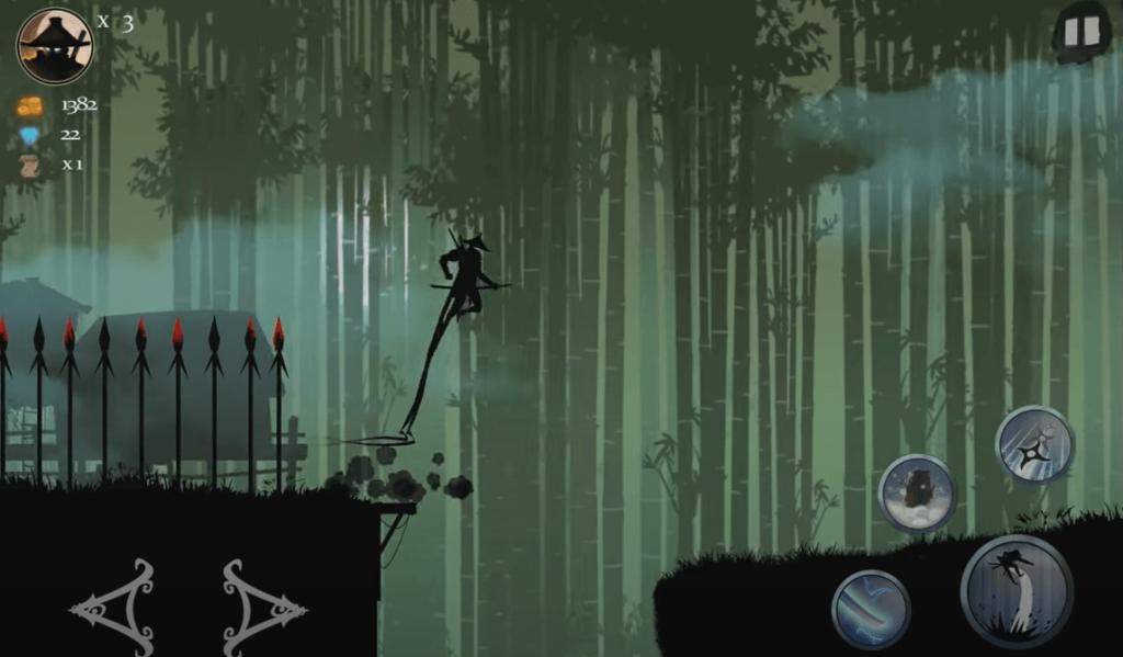 Ninja Arashi Android gameplay