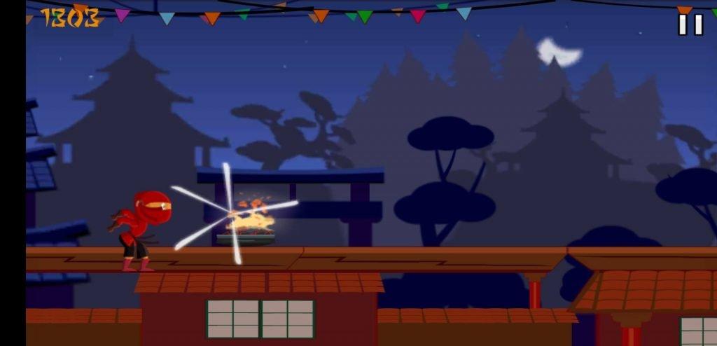 Ninja Run gameplay