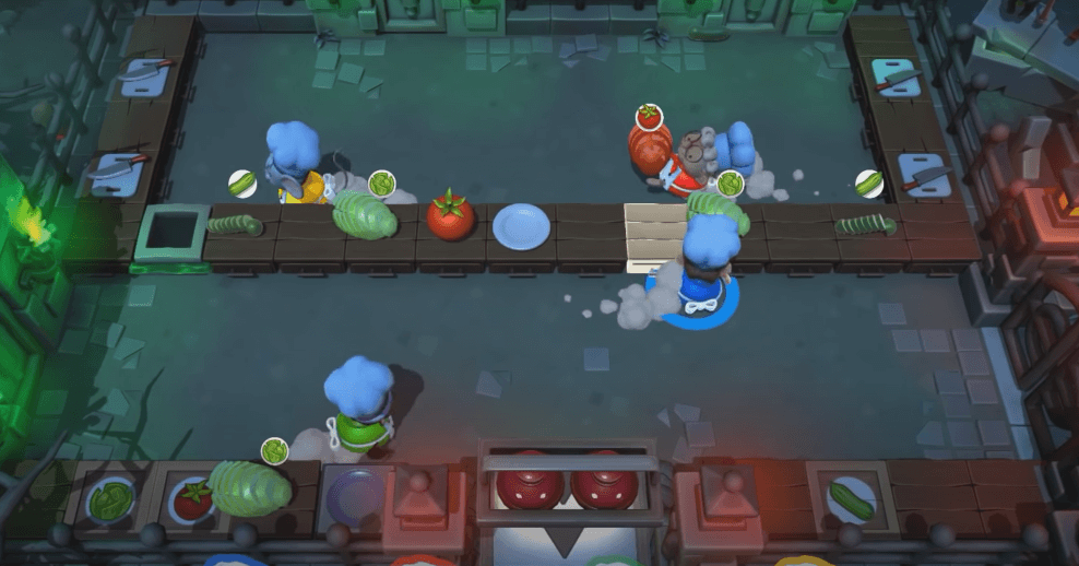 Overcooked 2 is a great game for teenagers who like to cook