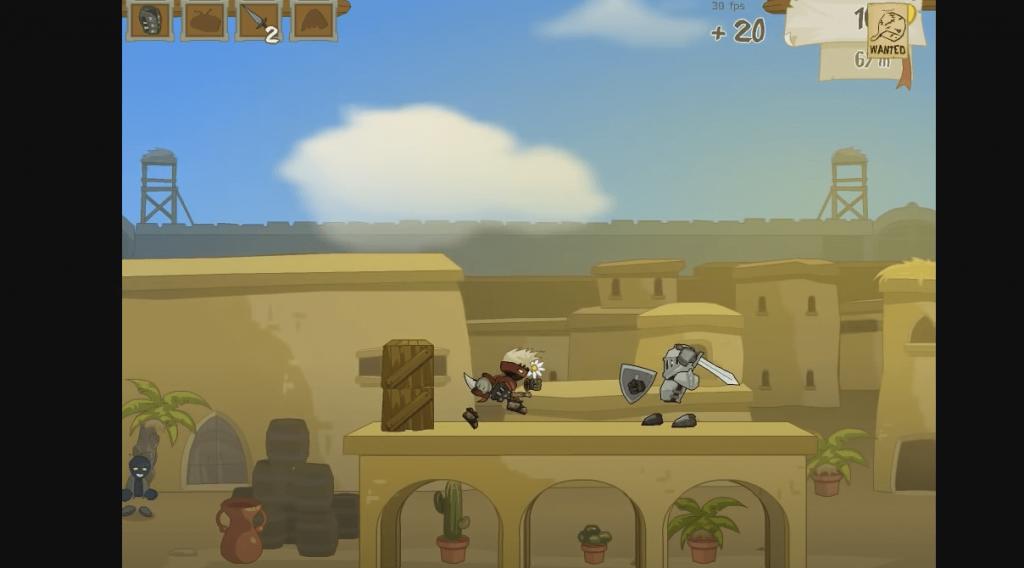 Rogue Soul 2 ninja android game