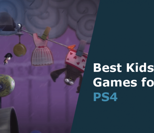 best kids games for ps4