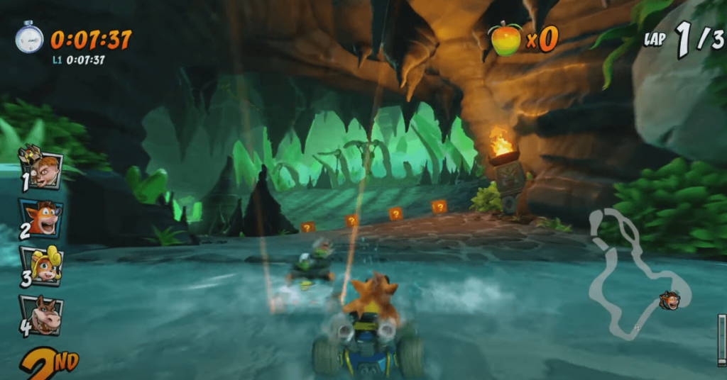 Crash Team Racing Nitro-Fueled is one of the best racing games for PS4
