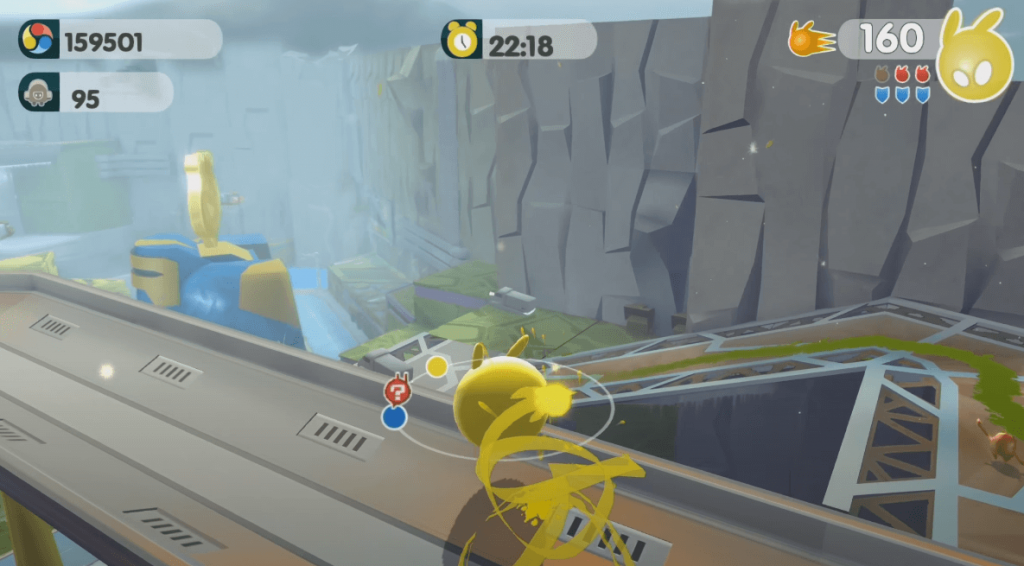 de Blob 2 - another great game title on PS4