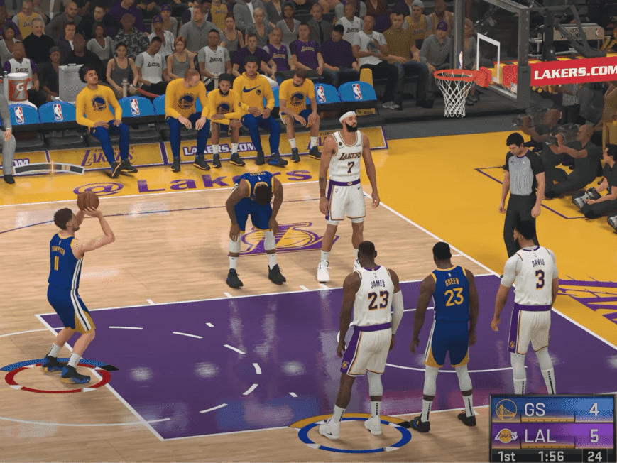 NBA 2K series for any basketball fans