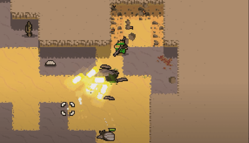 Nuclear Throne gameplay