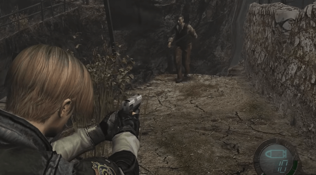 Resident Evil 4 gameplay - a TPS horror game available for Nintendo Switch