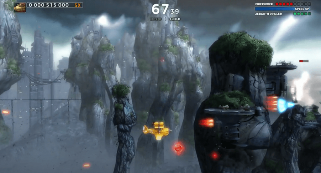 Sine Mora EX gameplay