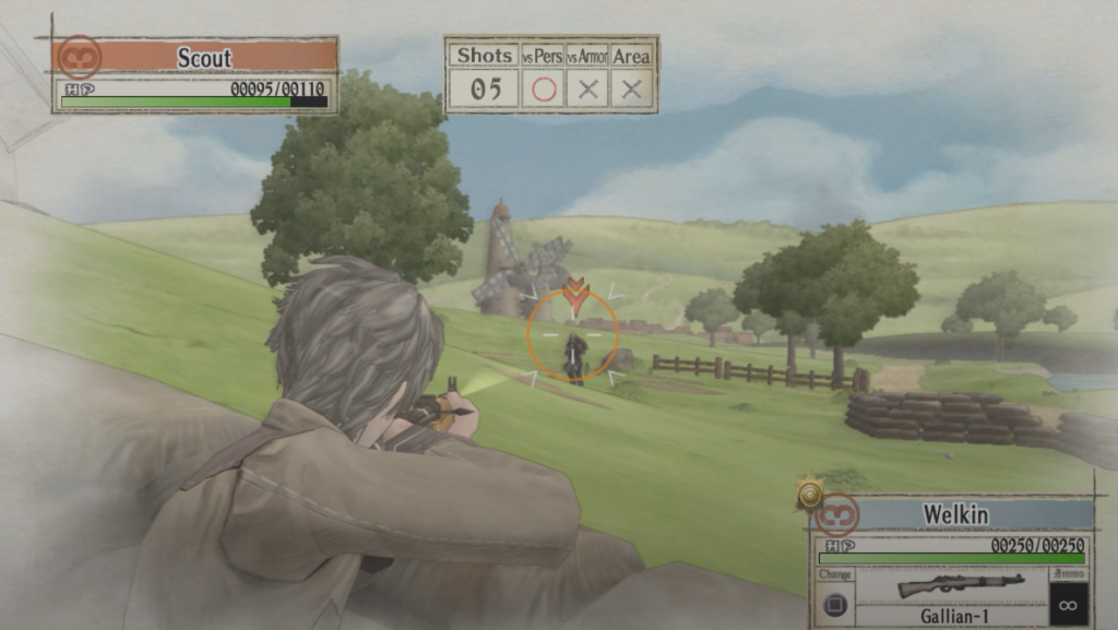 Valkyria Chronicles Remastered gameplay
