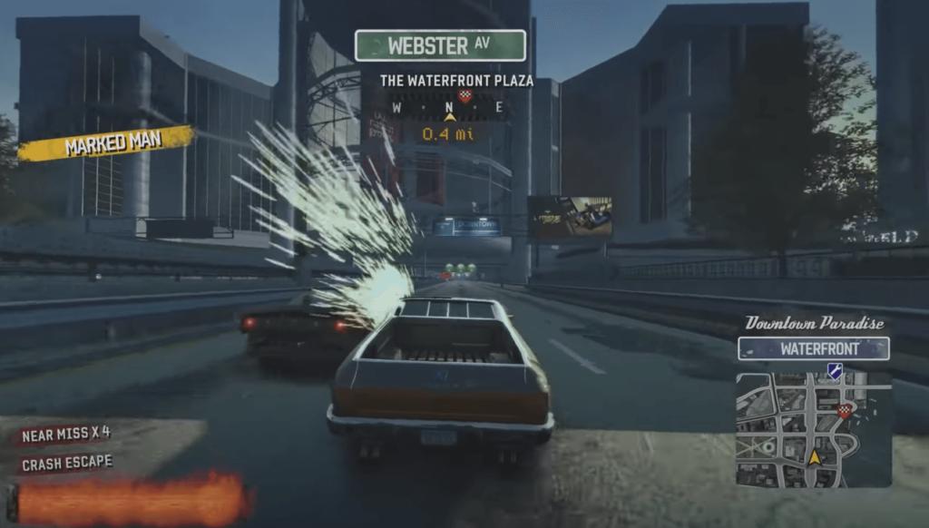 Burnout Paradise Remastered gameplay
