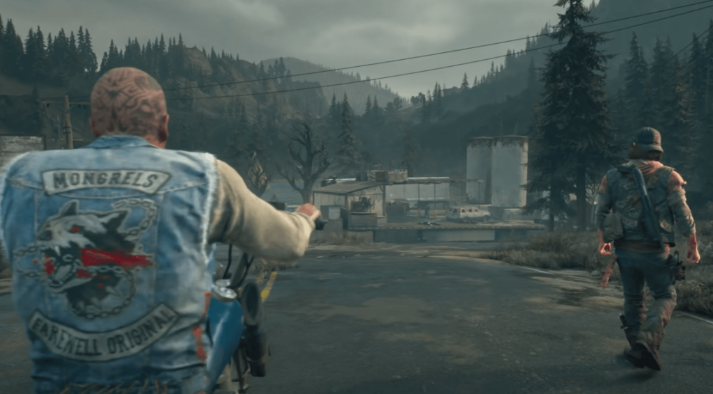 Days Gone ps4 adventure game